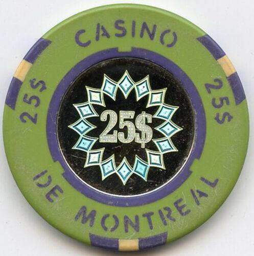 Casino de Montreal - Canada - $25 Chip - 1994 - Hologram Center