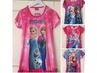 Disney frozen night dress age 5-6