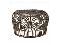 Rattan Sahara side/occasional table/ footstool