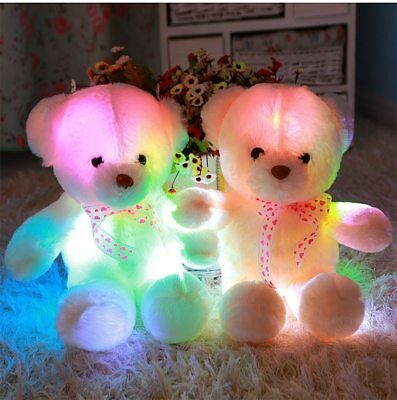 Teddy Bear Led Big Plush Toy Light Animal Colorful Stuffed Glowing Gift Kid 50cm](Big Plush Teddy Bear)
