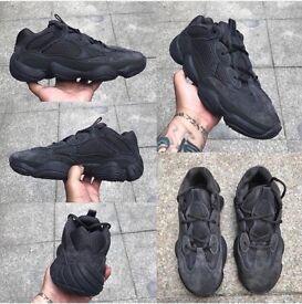 """Adidas Yeezy 500 """"Utility Black"""" Various Sizes"""