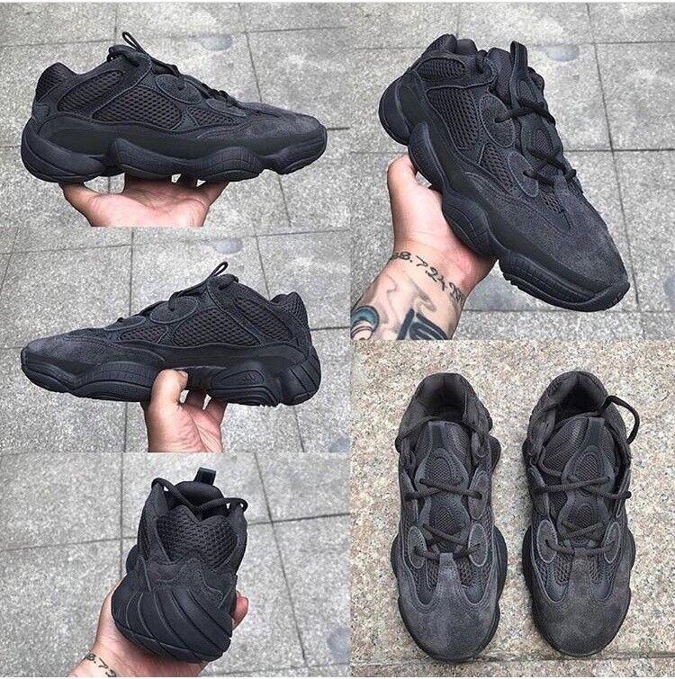 """2e87bf0a83c78 Adidas Yeezy 500 """"Utility Black"""" Various Sizes"""