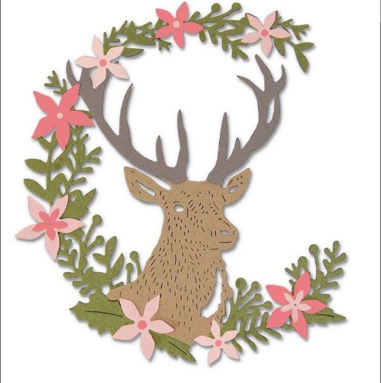Sizzix Thinlits Woodland Deer 662634