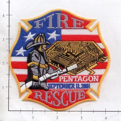 Washington DC - Pentagon Rescue DC Fire Patch 9-11 343