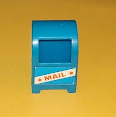 ***FISHER PRICE LITTLE PEOPLE SESAME STREET HOUSE MAIL BOX***