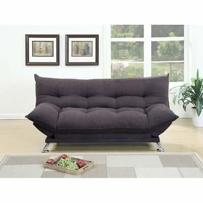 velvet fabric cushiony adjustable sofa in gray
