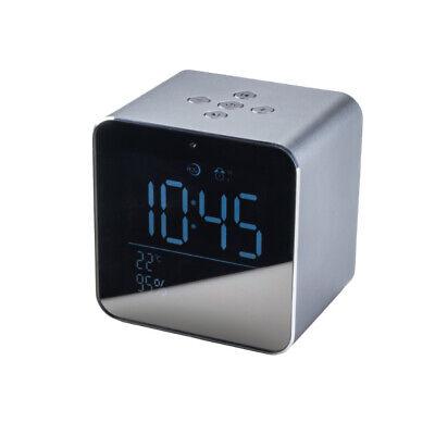 Reloj Despertador Altavoz Bluetooth Cubo Daewoo DBT-305 Gris