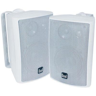 Dual 3-Way Indoor/Outdoor Speakers - White - LU47PW