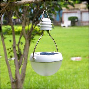 Protable LED Outdoor Solar Power Waterproof Hanging