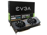 EVGA GTX 980 Ti FTW ACX 2.0+ 6GB Graphics Card
