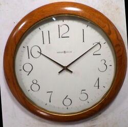 Terrific 19 Diameter Vintage Howard Miller Gallery Wall Clock