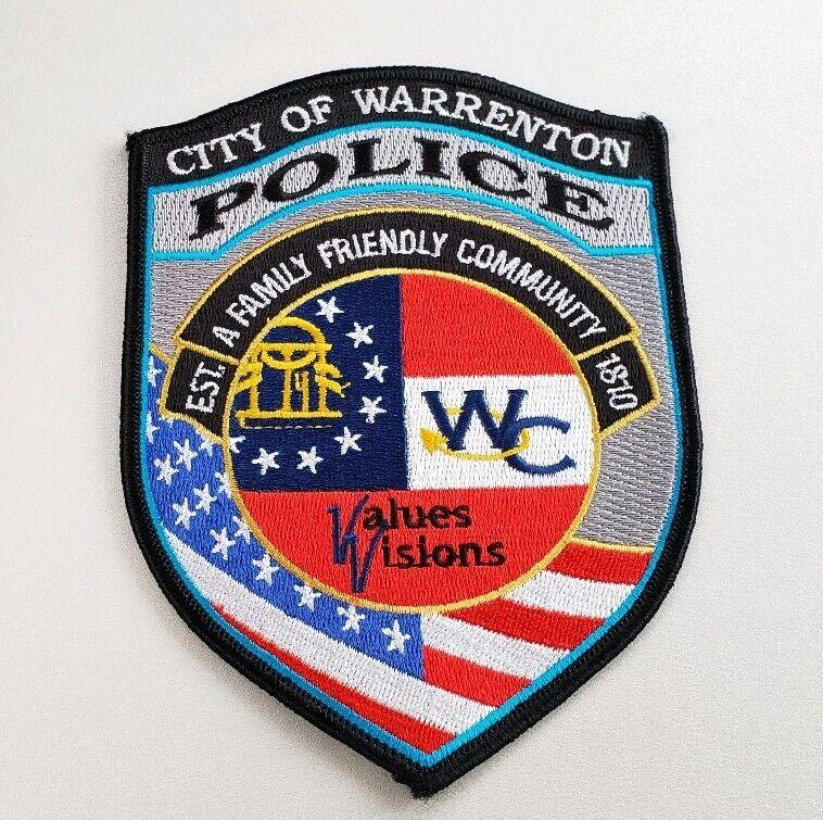 Warrenton Georgia Police Shoulder Patch