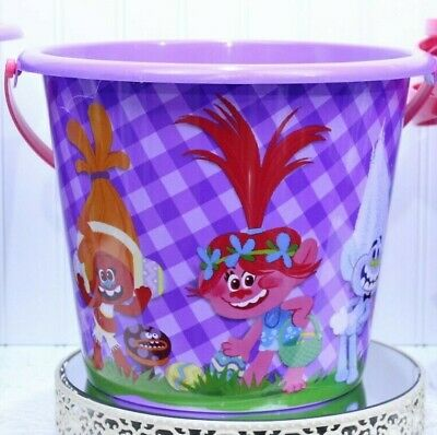 Halloween Trolls Jumbo Bucket Gift Basket Easter NEW  L-100S](Halloween Bucket Ideas)
