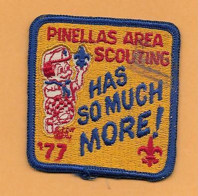 Bereich Pfad (Pinellas Bereich Pfadfinder Hat so Much More 1977 Vintage Boyscout, BSA Aufnäher)
