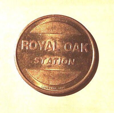 Royal Oak Car Wash Token