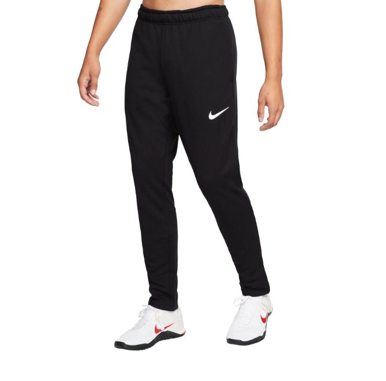 Nike Sweatpants Mens XL Black with White Authentic Dry Fleec
