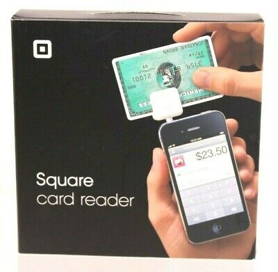 Square White Credit Card Magstripe Reader For Android Used