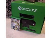 Xbox one boxed with Fifa 17 and kinetic. Mint condition
