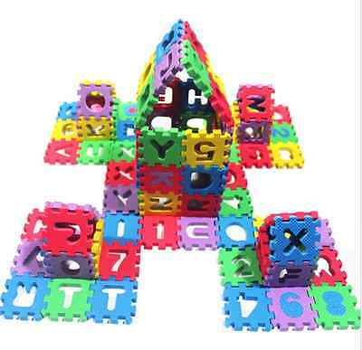 36pcs Foam Puzzle Numbers+Letters Play Mat Foam Puzzle Floor