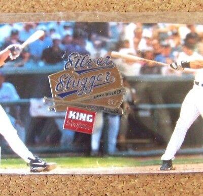 1998 Colorado Rockies Pin  2 Silver Slugger Larry Walker   Castilla King Soopers