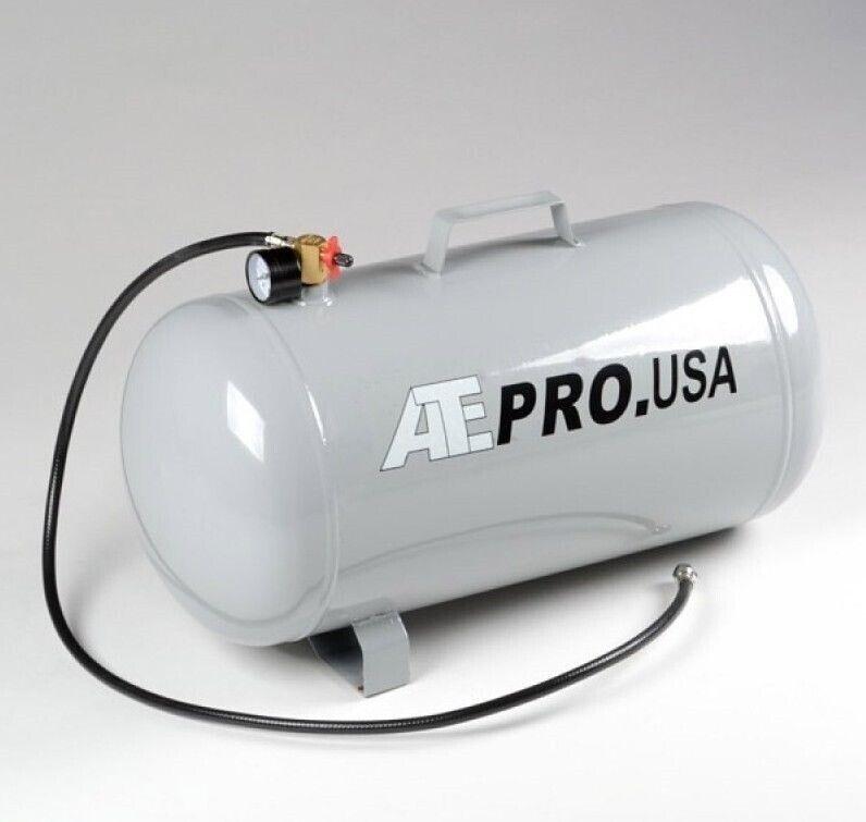 9 Gallon Portable Air Compressor Tank with 3ft Air Hose 4 Air Pressure Storage