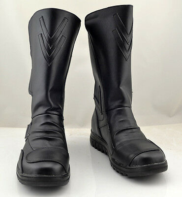 Star Wars Darth Maul Schwarz Schuhe Stiefel Shoes Boots Cosplay Kostüme - Darth Maul Kostüm Cosplay