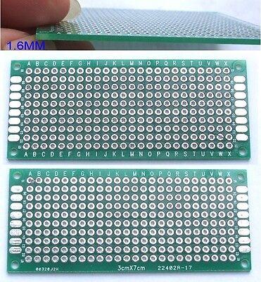 50pcs Double Side 3cmm X 70mm Pcbs Printed Circuit Board Blank Diy Soldering Ic