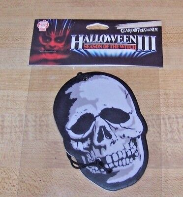 Halloween 3 Season of the Witch The Skull Air Scare Freshener TOTS