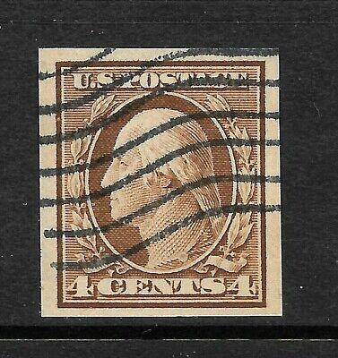 346 XF USED IMPERFORATE SINGLE,  FREE SHIPPING IN USA  *
