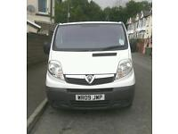 Vauxhall vivaro 2900cdti lwb mint