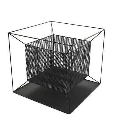 GARDENLINE SQUARE FIRE BASKET -Built In Ash Catcher -Large Inner Compartment!