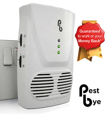 PestBye Whole House Electronic Mouse Repellent Ultrasonic Repeller Rat Deterrent