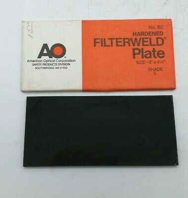 American Optical Hardened Filterweld Welding Plate Shade 5