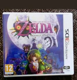3ds Zelda major mask 3d
