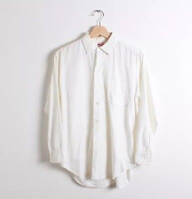Clothes Of The 60s (Vintage 60s Fruit of the Loom Oxford Mens Button Up Dress Shirt 15 1/2)