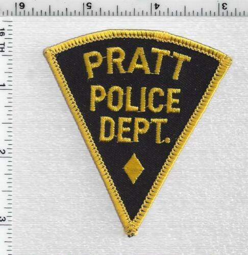 Pratt Police (Kansas) 2nd Issue Shoulder Patch