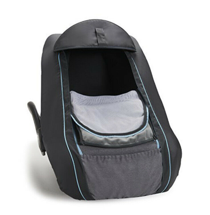 New !!  Sealed Brica SmartCover Infant Car Seat Cover Gray Fast Ship