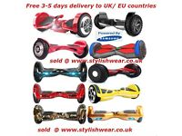 Swegway 2 Wheel Electric Hoverboard Scooters, free 2-5 days UK/EU delivery. UK tested and approved