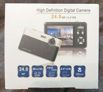 Compact Digital Camera 24 Mega Pixels - ✅ FREE & FAST DELIVERY