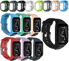 Silicon Bracelet TomTom pour montres Runner 2&3/Spark 3/Golfer 2/Adventurer #MEH
