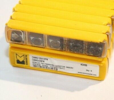 CNMG 433 FN KCK05 KENNAMETAL *** 10 INSERTS *** FACTORY PACK ***