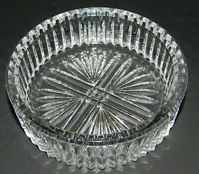 Waterford Crystal Small Round Bowl / Wine Coaster - LISMORE TRADITIONS ? Wine Round Bowl