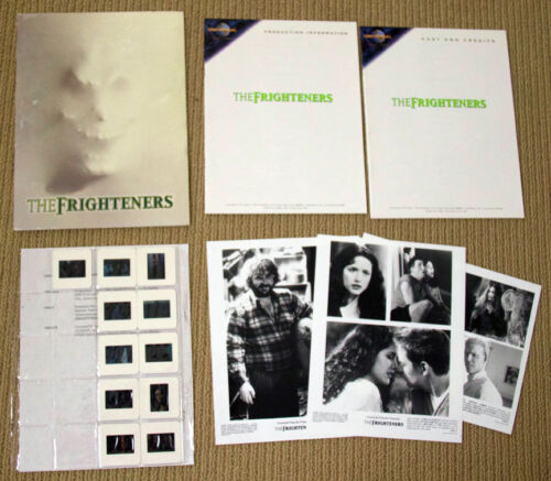 THE FRIGHTENERS Michael J. Fox PRESSKIT Peter Jackson PHOTOS horror SLIDES