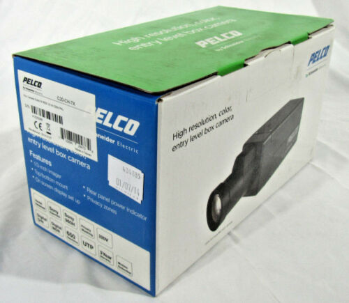 NEW Pelco C20-CH-7X Digital Day/Night Analog Color Cam PAL SOLD W/O LENS