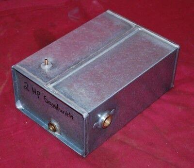 2 Hp Sandwich Gas Engine Motor Fuel Tank