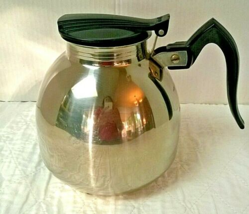 Vintage Stainless Steel Nicro Cory Coffee Pot Model 468