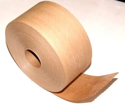 New 1 Roll Wat Gum Tape Reinforced 3 X 375 Ft Kraft Paper Tape Economy