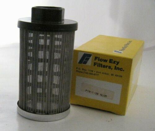 "Flow Ezy Filters P10-1-30 ALUM Sump Strainer - 10 GPM - 1"" NPT (F) - 30 Mesh"