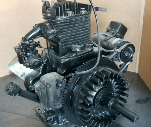 Wisconsin Model AEHS Electric Start w/ Generator Engine Ser 1287772 Not Running