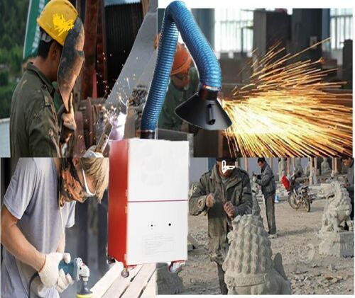1800m³/h Welding Fume Extractor 220V for Industrial Smoke and Light Particles